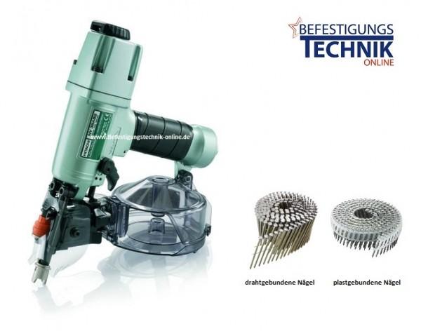 Hitachi Druckluft Coilnagler NV 38AB2 (Draht + plast 25-38 mm)