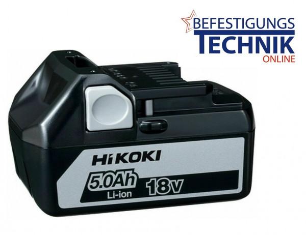 ✅ ORIGINAL Hitachi Hikoki BSL1850 18,0 Volt 5,0 Ah Ersatz Akku Schiebeakku LiIon
