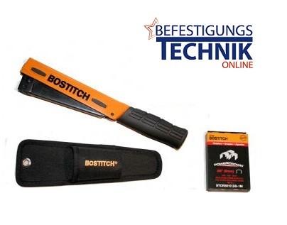 Bostitch Handhefthammer Hammertacker H30-6-E 06-10mm STCR2619 PowerCrown KL-79