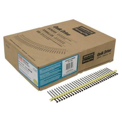 4,6x32mm SIMPSON Quik Drive magazinierte Schieferschrauben rostfrei A2