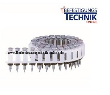 Coil Stahlnägel Betonnägel 3,4x30mm für Betonnagler MAX HN120 PowerLite CPW-830W4 Tjep CPPW 34/30