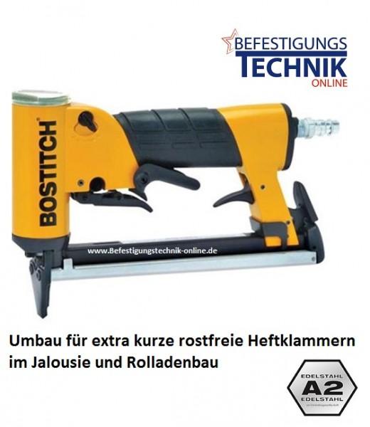 Bostitch 21697B-E 04-16mm Klammergerät für Prebena O Klammer Rolladen Bau KL-30