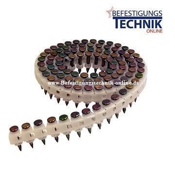 Coil Betonnägel 3,0x19mm für Betonnagler MAX HN25C CP-C619V5 Makita AN250AC Tjep CPPW
