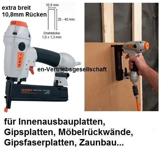 TJEP ES-500/40 Klammergerät (ES-500+PB>20-40 mm) Rückenbreite ca.10,9mm