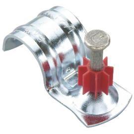 Betonnägel Ø 3,7x25mm mit Rohrschelle Ø 26mm für Bolzensetzer Powers DeWalt HILTI Würth Spit Berner