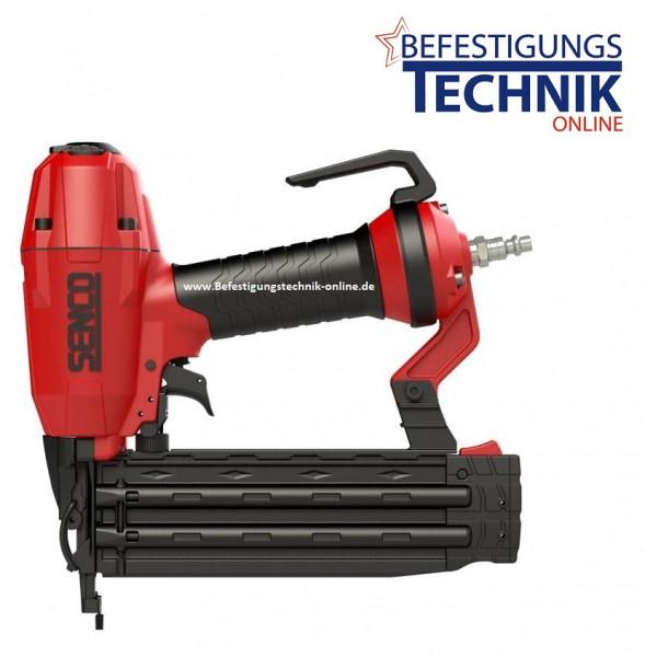 Senco FinishPro18BL 15-50mm Druckluft Stiftnagler + 5000 Stauchkopf Nägel Prebena J BR-03