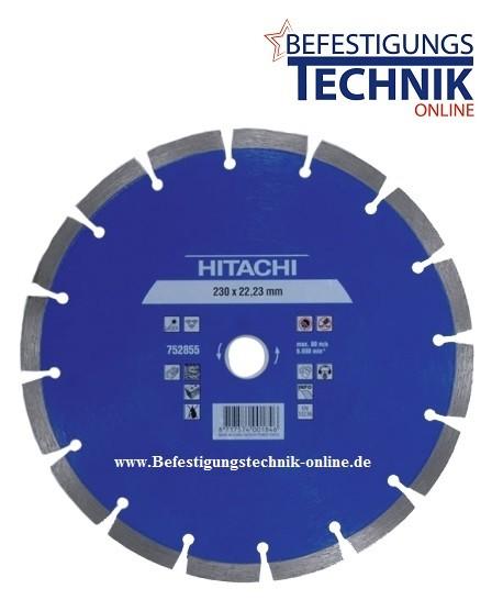 Hitachi Diamant Trennscheibe 300 x 22,2 x 10mm für Harte Materialien Premium