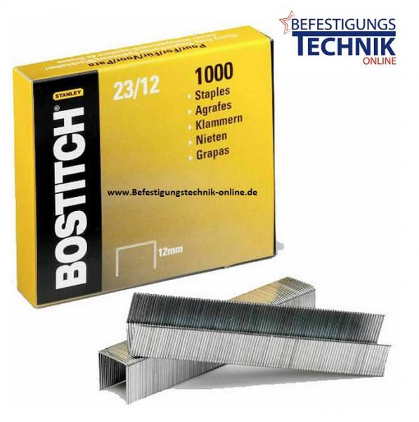 Bostitch 23-12-1M Heftklammern für HD-12F HD-23L17 HD-3D B310HDS 00540 KL-23