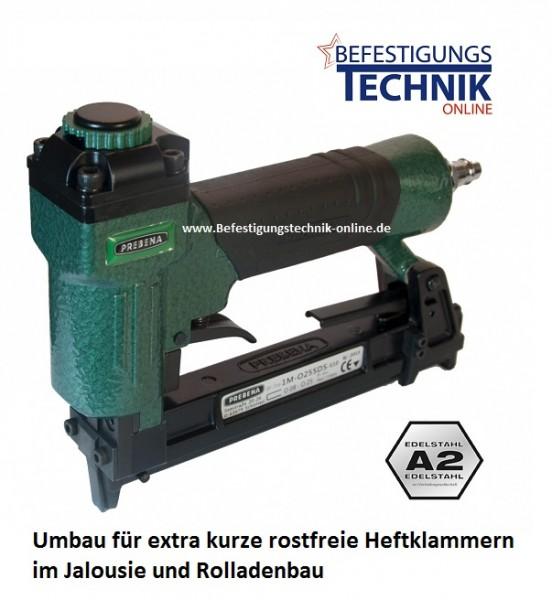 Prebena 1M-O25SDSRoll. 4-6mm Baublitz Klammergerät für Jalousie Rolladen Bau KL-30