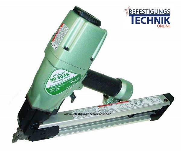 Hitachi Druckluft Ankernagler NR50AK 40-50mm für 34° Ankernägel