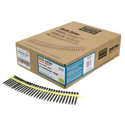 3,6x32mm SIMPSON Quik Drive magazinierte Fermacellplattenschrauben Fermacell