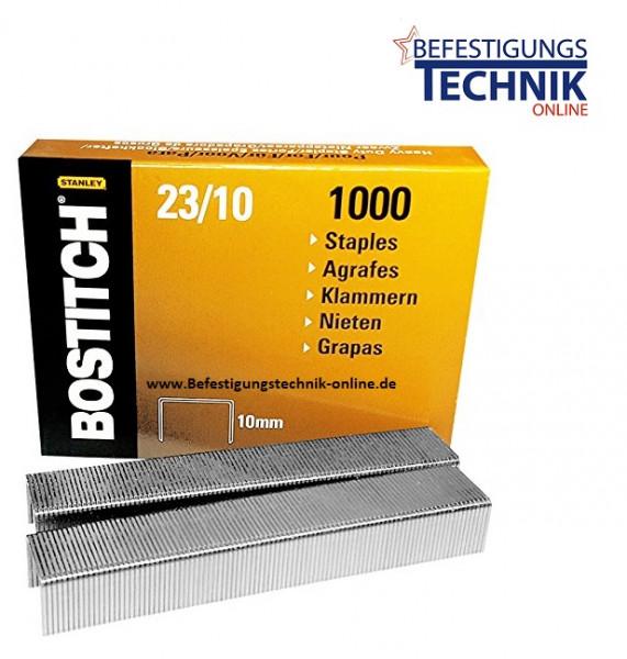 Bostitch 23-10-1M Heftklammern für HD-12F HD-23L17 HD-3D PHD-60 B310HDS KL-23
