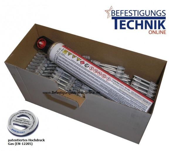 Betonnägel Ø 2,6x35mm inkl. 1xGas für Hitachi NC40G Senco SGP40S Tjep CP40