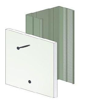 Schraubentyp-Metall