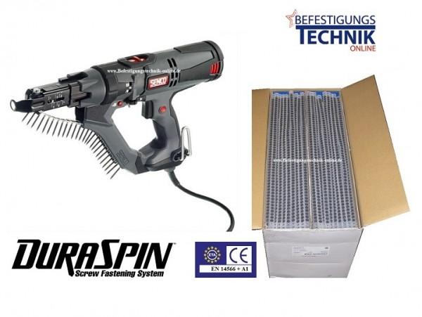 Senco Elektro Magazinschrauber Trockenbauschrauber DS5550-AC DuraSpin + 10'000 Schrauben