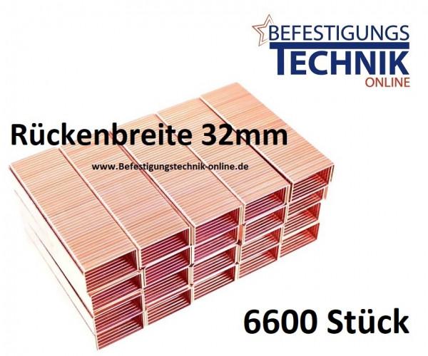 Karton Klammern 32/15mm für Kartonverschlusshefter Bostitch MS DS 3219-E Prebena KTVH-R19 KL-40