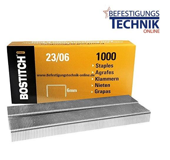 Bostitch 23-08-1M Heftklammern für HD-3D PHD-60 B310HDS KL-23