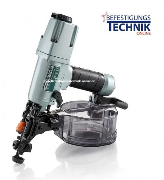 Hitachi Druckluft Coilnagler NC50AG2 Haftennagler Eternitnagler (25-45 mm)