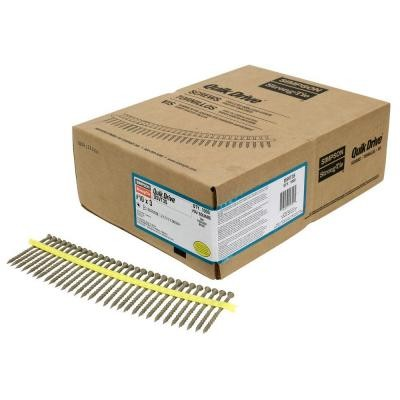 4,6x51mm SIMPSON Quik Drive magazinierte Holzbauschrauben Spanplattenschrauben