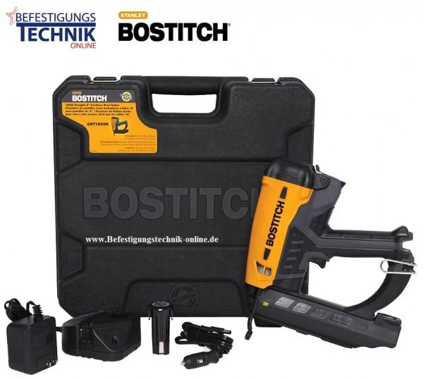Bostitch GBT1850K-E (15-55 mm) Gas Nagler Stiftnagler Profigerät