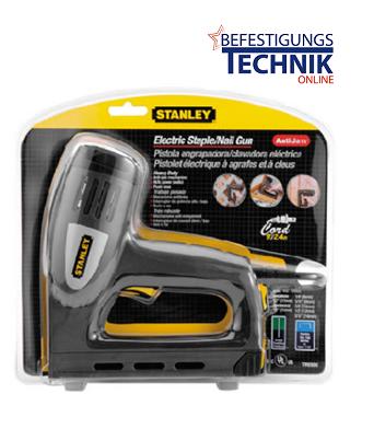 Stanley Elektrotacker und Nagler 6-TRE550 Stifte 11-15mm BR-03 und Klammern 06-14mm KL-35