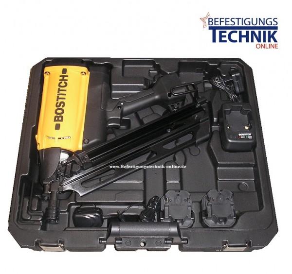 Bostitch Akku Gas Nagler Streifennagler GF9033-E (50-90 mm)