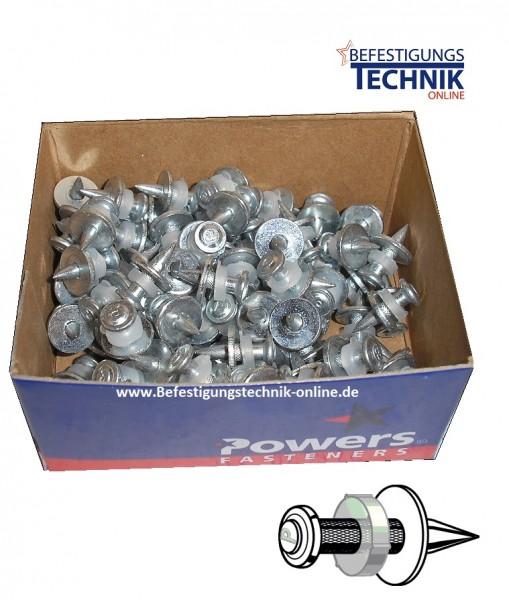 Universal Kopfbolzen für Stahl Ø 3,7x16mm für Bolzensetzer Powers DeWalt HILTI Würth Spit