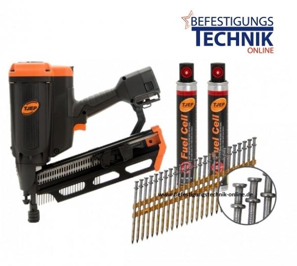 TJEP FH 21/90 GAS 2G Streifennagler Duplex (50-90 mm)