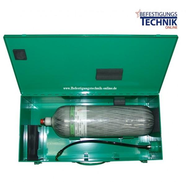10 bar 9,0 Liter KT-900-S Prebena Mobilo wiederbefüllbare PKT Druckluftkartusche