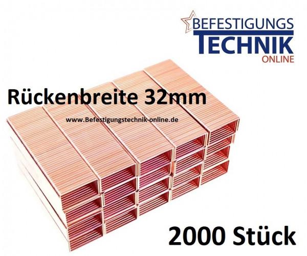 Karton Klammern 32/18mm für Kartonverschlusshefter Bostitch MS DS 3219-E Prebena KTVH-R19 KL-40