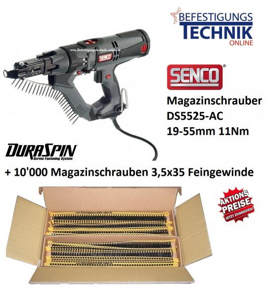Senco Magazinschrauber DS5525-AC DuraSpin + Magazinschrauben