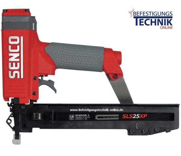 SENCO Druckluft Klammergerät SLS25XP-M 22-38mm Kontaktauslösung KL-19