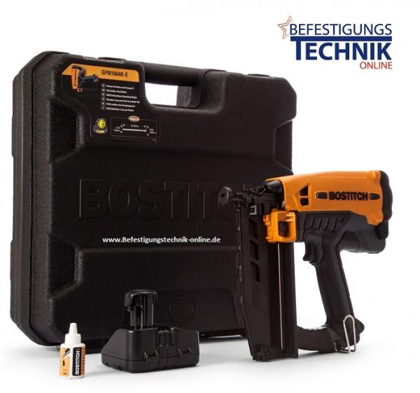 Bostitch GFN1664K-E 16-64mm Gas Nagler Stiftnagler für Stauchkopf Nägel F-16 BR-04