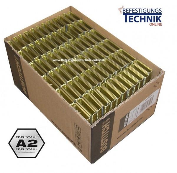 Bostitch S4 50mm Klammern rostfrei 10M für S4650 750S4 S4765 765S4 863S4 KL-41