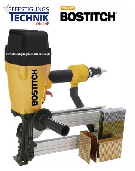 Bostitch SB130S1-2-E (65-130 mm) Druckluft Breitrücken Klammergerät Profigerät