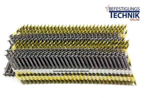Senco MD Streifennägel 3,8x120mm glatt blank MD63APBE 24° kunststoffmagaziniert 1,4M