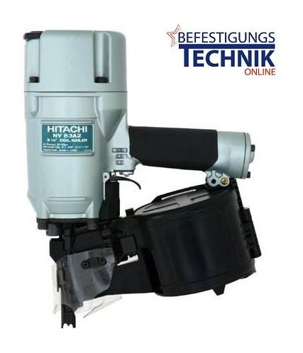Hitachi Druckluft Coilnagler NV83A2 Draht 50-80mm Industrie Nagler Kontaktauslösung