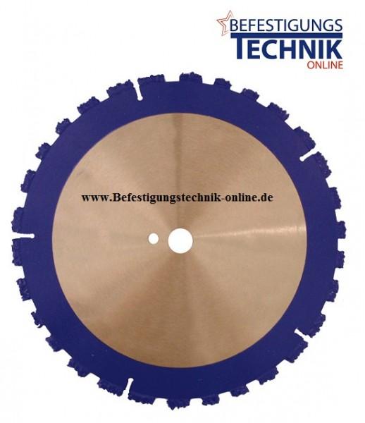 Spezial Trennscheibe ROOT-Cutter 230 x 22,2 x 10mm für Baumwurzeln Dachpappe Hartgummi