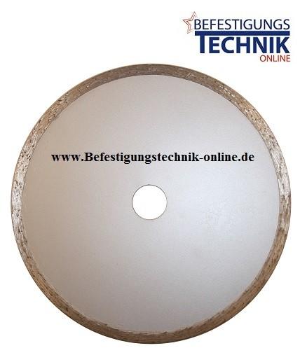 Diamant Trennscheibe ⌀115 x 22,2 mm extra dünn 1,4mm Fliesen Kacheln Feinsteinzeug ECO
