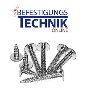 Trespa Fassadenschrauben 4,0x30mm rostfrei Edelstahl gehärtet 10mm Flachkopf TX-20 ETA-11/0024