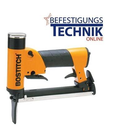 Bostitch Druckluft Klammergerät Lange Nase 21671B-LN-E (04-16 mm) Profigerät