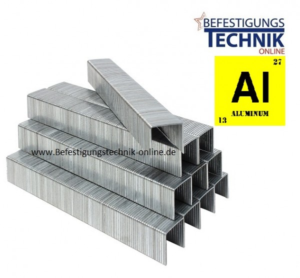 Prebena A08CAL A 80/08mm ALU Aluminium Heftklammern Klammern KL-01