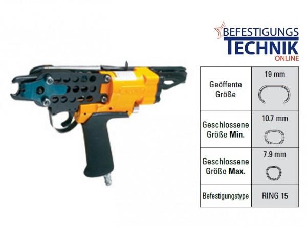 Bostitch SC7C 32mm lange Nase Druckluft Ringzange für 130 Ringklammern Ring15 KL-96
