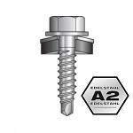 4,8x22mm SIMPSON Quik Drive magazinierte Trapetzblech Schrauben für Überlappung