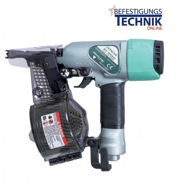Hitachi Druckluft Coilnagler NV50AH (27-50 mm) drahtgeb.