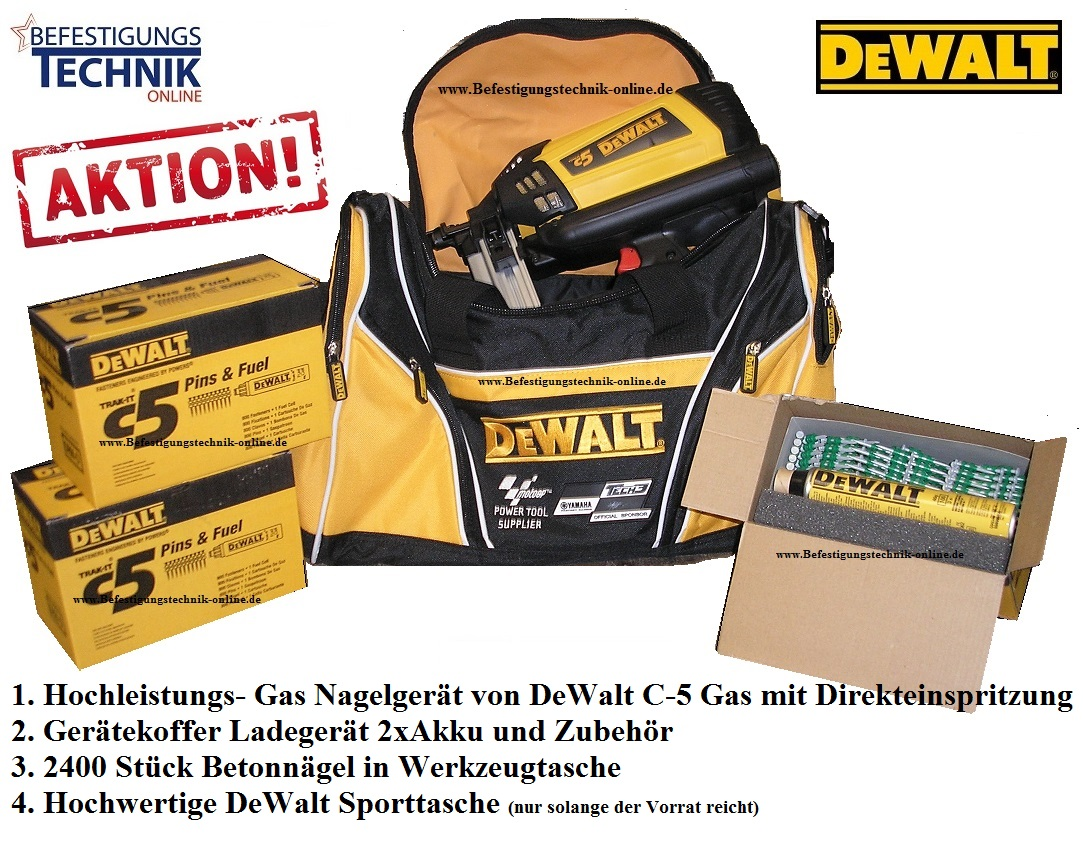 gas betonnagelger t dewalt c 5 powers c5 w rth. Black Bedroom Furniture Sets. Home Design Ideas