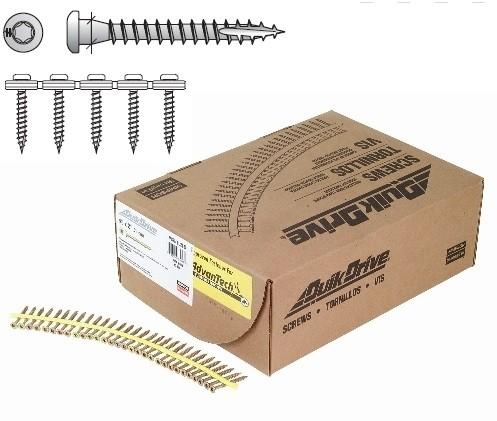 5,0x40mm SIMPSON Quik Drive magazinierte Holzverbinderschrauben pro Ankernägel