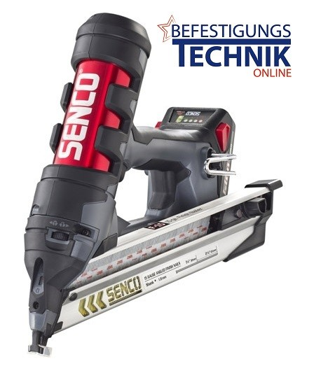 Senco Akku Nagler Fusion F15 32-65mm 18V 2x1,5 Ah für 34° DA Stauchkopfnägel BR-06
