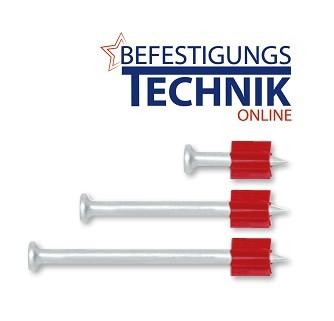 100 Beton Nägel 57mm für Bolzensetzer HILTI DX 36 40 41 351 460 Würth Spit P 60 M