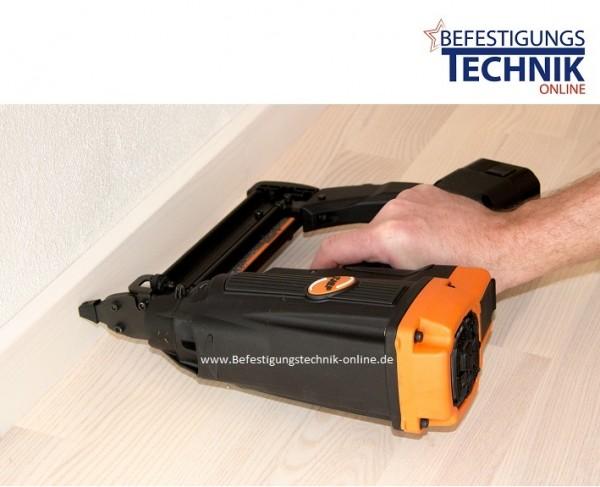 TJEP ST-15/50 GAS 2G Fußleistennagler Betonnagler Bradsnagler (BR-04.1>15-50 mm)